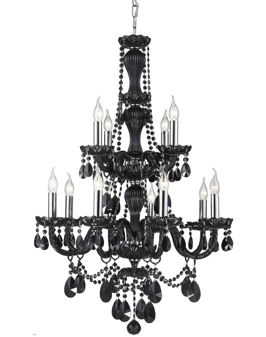 Jet Black Bohemian Chandelier - COLLECTION