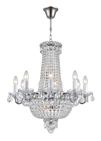 NewYork Empress Chandeliers - Chrome - COLLECTION