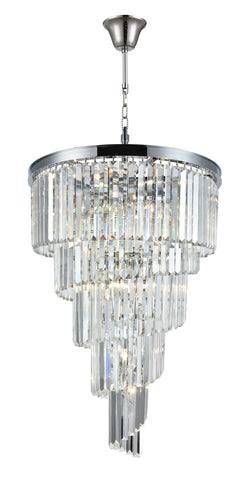 Spiral Oasis Chandeliers - Chrome - COLLECTION