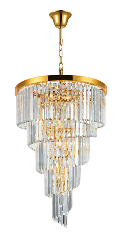NewYork Oasis Spiral Chandeliers - Gold - COLLECTION