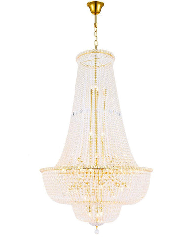 Empress Crystal Basket Chandelier - GOLD - 45 Light - Designer Chandelier