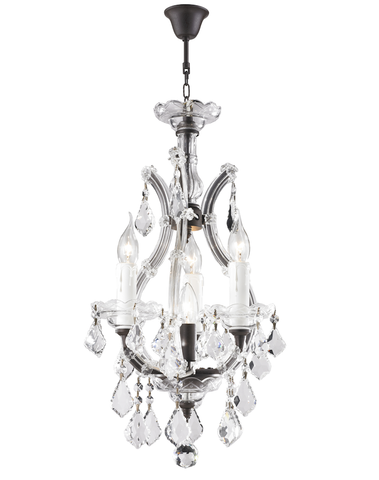 Maria Theresa Basket Crystal Chandelier - RUSTIC