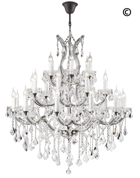 Maria theresa crystal chandelier grande 28 light rustic designer maria theresa crystal chandelier grande 28 light rustic designer chandelier australia aloadofball Gallery