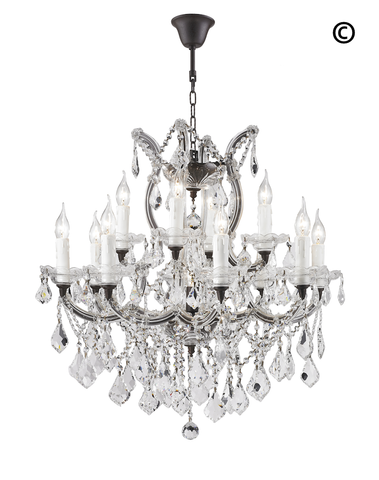 Maria Theresa Crystal Chandelier Grande 13 Light -RUSTIC