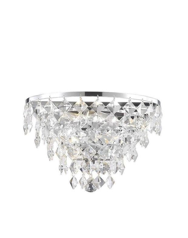 NewYork- Diamond Edge Wall Sconce - Designer Chandelier