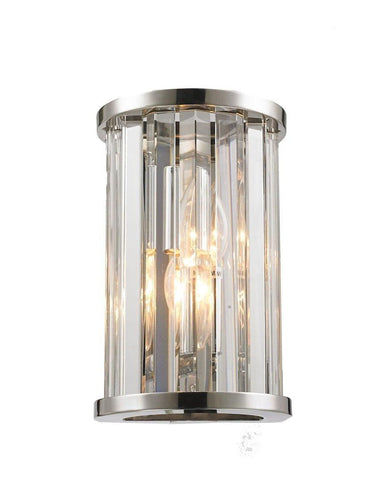Odeon Wall Sconce - Clear - Height 22cm Odeon Wall Sconce - Clear - Height 22cm