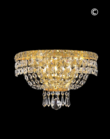 Empress Wall Light Sconce - GOLD -W:30cm - Designer Chandelier