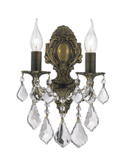 AMERICANA 2 Light Wall Sconce - Victorian - Antique Bronze Style - Designer Chandelier