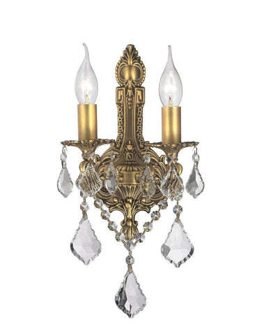 Wall sconce designer chandelier australia americana 2 light wall sconce edwardian brass finish designer chandelier americana 2 light aloadofball Choice Image