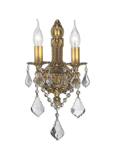 Wall sconce designer chandelier australia americana 2 light wall sconce edwardian brass finish designer chandelier americana 2 light aloadofball Image collections