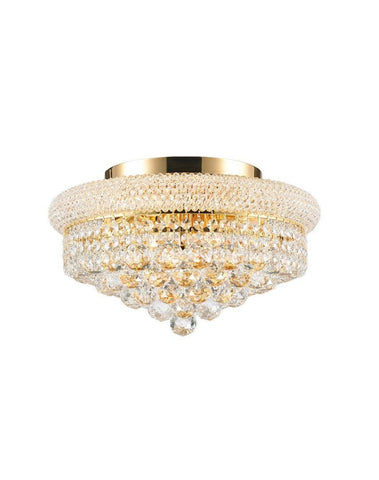 Royal Empress Flush Mount Basket Chandelier - GOLD - W:40cm-Designer Chandelier Australia