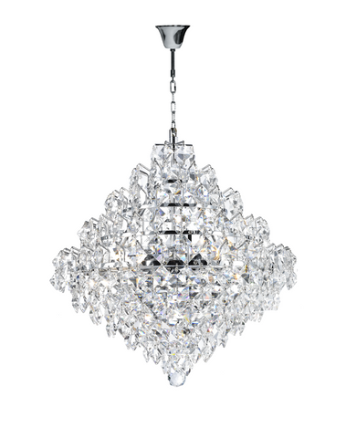 Diamond Edge - Chandelier Pendant Light - 40cm - Designer Chandelier