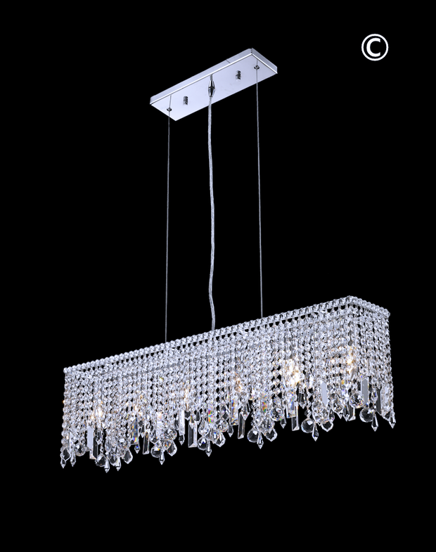 Harmony Crystal Bar Light- W:90cm - Designer Chandelier
