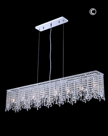 Harmony Crystal Bar Light- W:120cm - Designer Chandelier