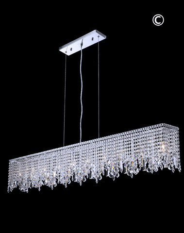 Harmony Crystal Bar Light- W:150cm - Designer Chandelier