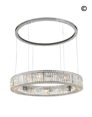 Crystocia - Halo Ring - W:100cm - Designer Chandelier