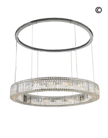 Crystocia - Halo Ring - W:120cm - Designer Chandelier