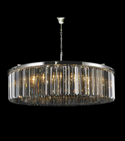Odeon (Oasis) Open Ring Chandelier- Smoke Finish - W:110cm - Designer Chandelier