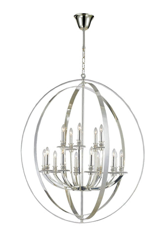 Hampton Orb - 15 Light - Silver Plated-Designer Chandelier Australia Hampton Orb - 15 Light - Silver Plated-Designer Chandelier Australia