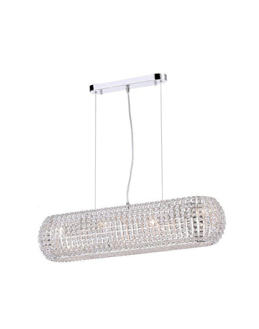 Infinity Bar Light - Clear Crystal - W:80 H:18cm-Designer Chandelier Australia