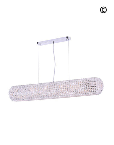 Infinity Bar Light - Clear Crystal - W:120 H:18cm-Designer Chandelier Australia
