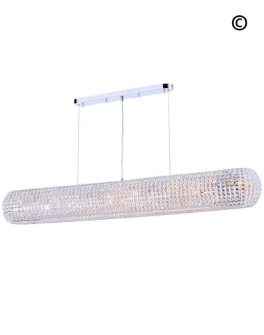 Infinity Bar Light - Clear Crystal - W:150 H:18cm-Designer Chandelier Australia