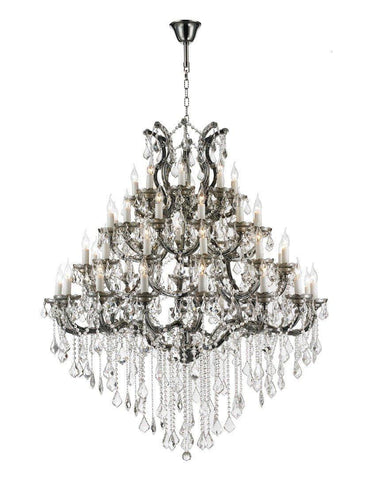 Maria Theresa Crystal Chandelier Grande 48 Light - SMOKE