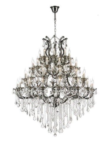 Maria Theresa Crystal Chandelier Grande 48 Light - SMOKE - Designer Chandelier