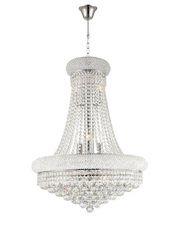 Royal Empress Basket Chandelier - CHROME - W:60cm - Designer Chandelier