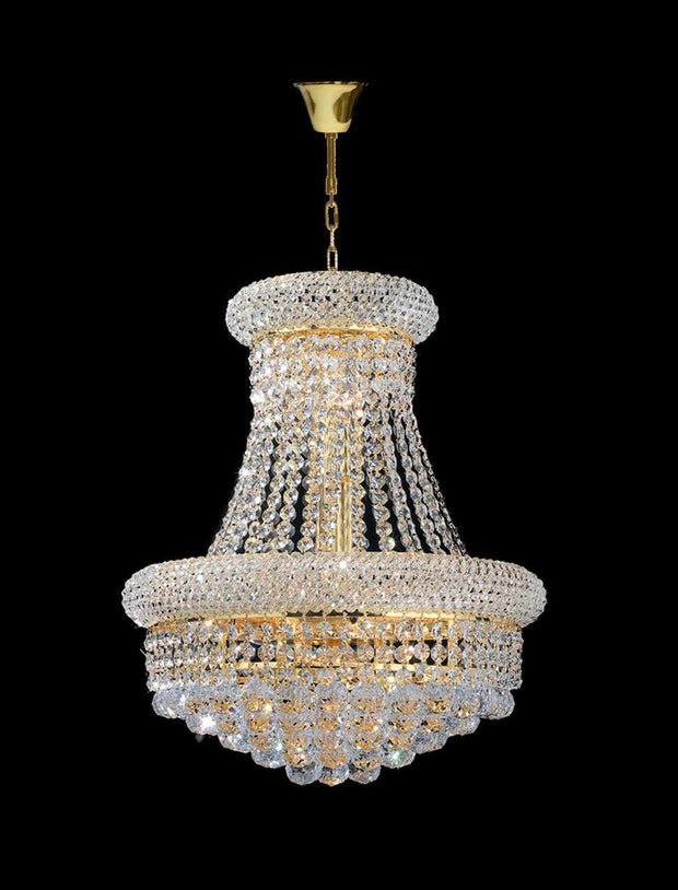 Royal Empress Basket Chandelier - GOLD - W:40cm - Designer Chandelier