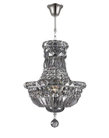 Empress Crystal Basket Chandelier - SMOKE - 5 Light-Designer Chandelier Australia