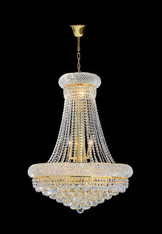 Royal Empress Basket Chandelier - GOLD - W:60cm - Designer Chandelier