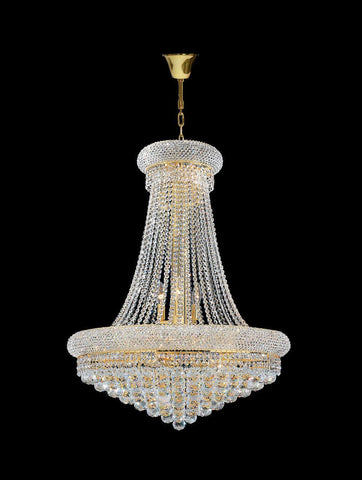 Royal Empress Basket Chandelier - GOLD - W:70cm - Designer Chandelier  Royal Empress Basket Chandelier - GOLD - W:70cm - Designer Chandelier