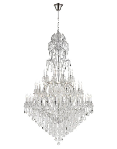 Maria Theresa Crystal Chandelier Royal 60 Light - CHROME-Designer Chandelier Australia