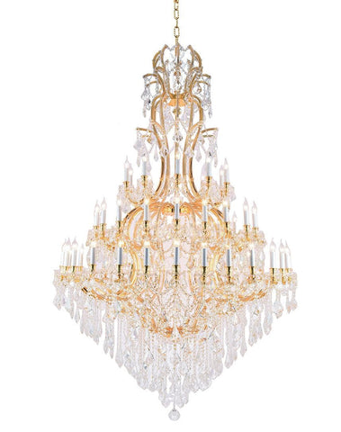 Maria Theresa Crystal Chandelier Royal 60 Light - GOLD - Designer Chandelier