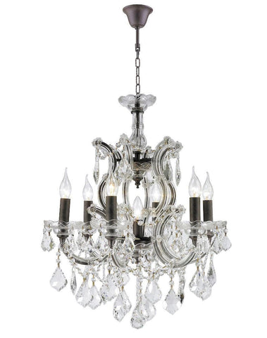 Maria Theresa Crystal Chandelier Grande 7 Light - Rustic
