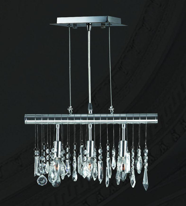 Trinity Modern Crystal Bar Light - W:40cm - Designer Chandelier