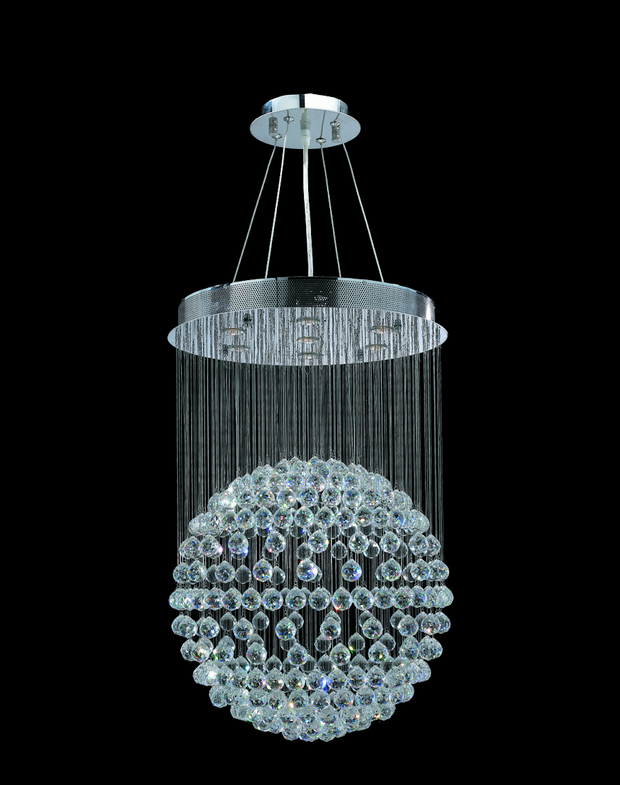Full Ball LED Crystal Chandelier - Width:60 Height:90cm - Designer Chandelier