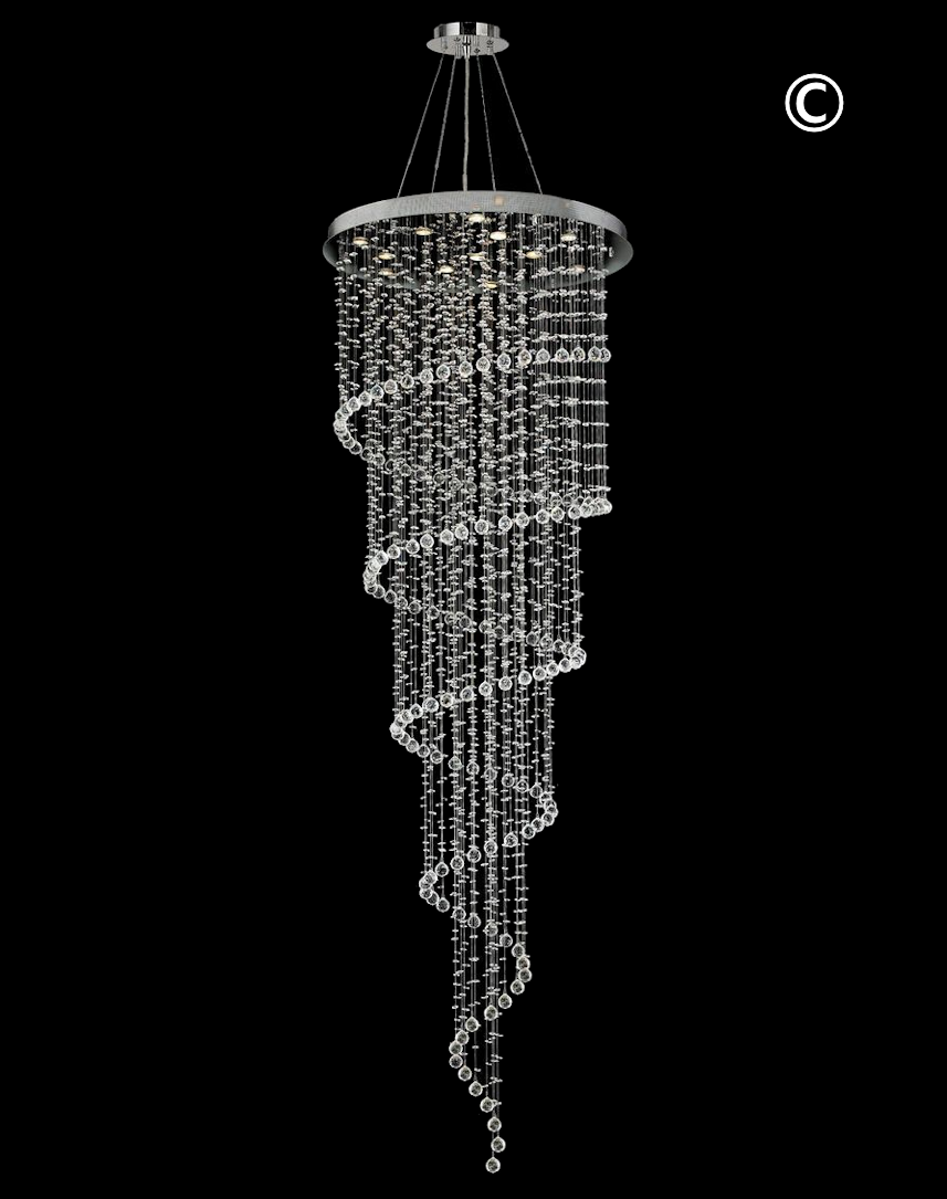 chandelier spiral modern mini astonishing with style blacktal at shades venetian by glass all venini murano for