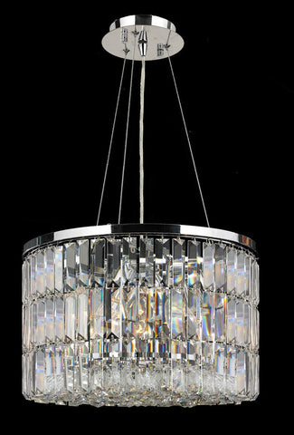 Modena Crystal Pendant - Round W:40 H:25