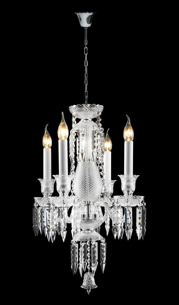 Buckingham Chandelier - 4 ARM - Designer Chandelier
