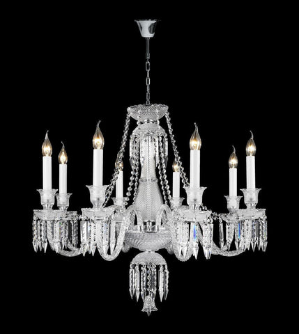Buckingham Chandelier - 8 ARM-Designer Chandelier Australia