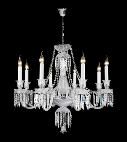 Buckingham Chandelier - 8 ARM - Designer Chandelier