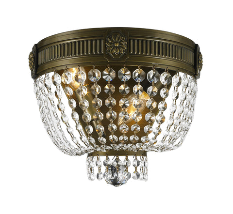 Regency Wall Sconce - Antique Bronze Style - W:30cm - Designer Chandelier