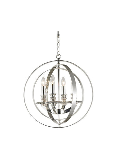 Hampton Orb - 4 Light - Silver Plated Hampton Orb - 4 Light - Silver Plated