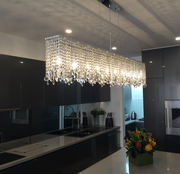 Harmony Crystal Bar Light- W:150cm