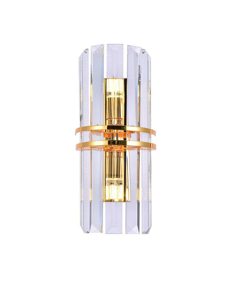 Ashton Collection - Wall Sconce - Gold Plated - Designer Chandelier