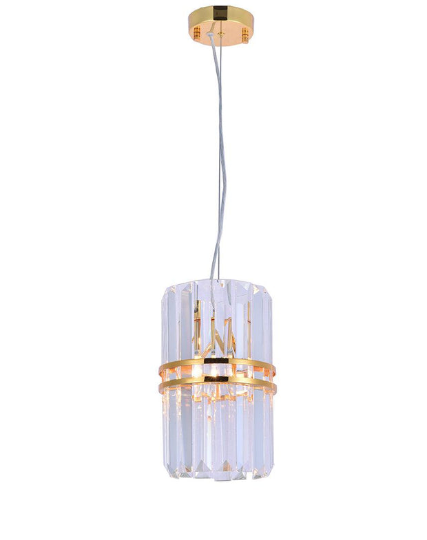 Ashton Collection - 20cm - Gold Plated - Designer Chandelier