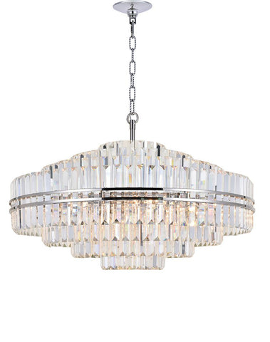 Ashton Collection - 100cm - Nickel Plated
