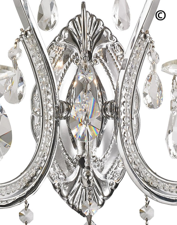 NewYork Princess Wall Sconce - Double Arm - Designer Chandelier